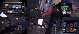 Joel Harrison, Justin Deblase, Andrew McKenna Lee, Cristian Amigo, Brandon Seabrook and Wolfgang Muthspiel guitar pedals - Alternative Guitar Festival (3rd Annual) - ShapeShifter Lab 02-21-13