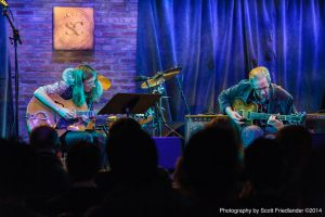 Vic Juris with Mary Halvorson: 01-19-14 SubCulture (2014 The Alternative Guitar Summit)