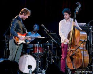 Nir Felder, Matt Penman and Jimmy MacBride: 03-10-17 (le) Poisson Rouge (2017 Alternative Guitar Summit)