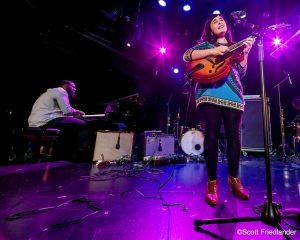 Camila Meza and James Francies: 03-10-17 (le) Poisson Rouge  (2017 Alternative Guitar Summit)
