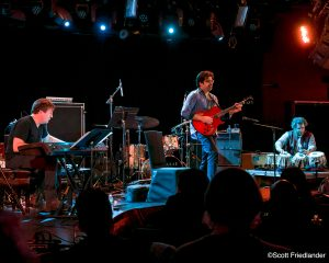 Rez Abbasi with Sameer Gupta and Ben Stivers: 03-10-17 (le) Poisson Rouge  (2017 Alternative Guitar Summit)
