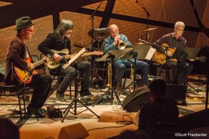 Steven Bernstein and Blue Campfire (with Steve Cardenas, Larry Campbell, and Will Bernard): 03-15-17 National Sawdust (2017 Alternative Guitar Summit)