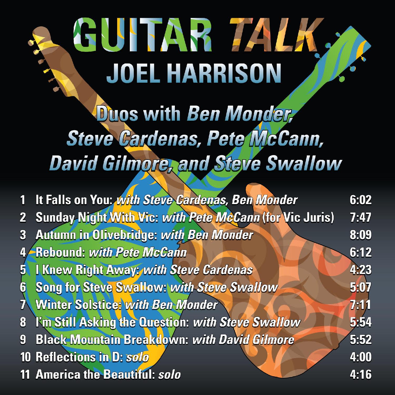 cover art guitar talk cd